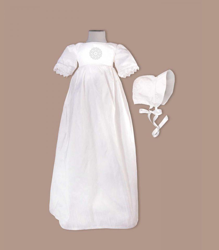 irish Cork christening gown with bonnet