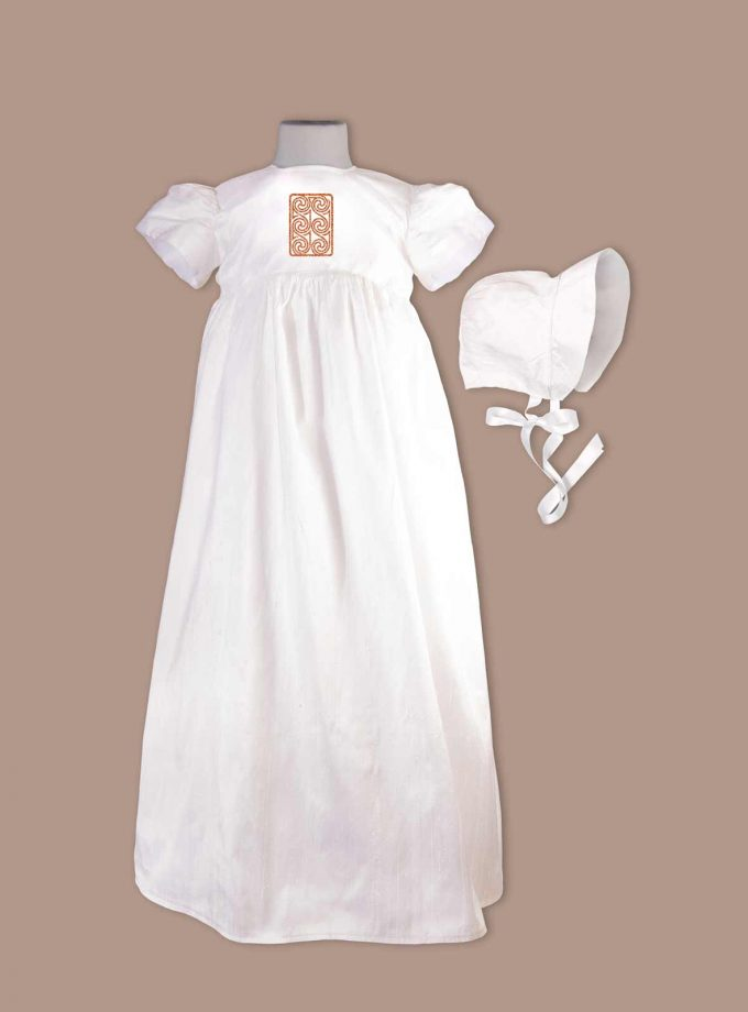 Kildare Christening Gown with bonnet