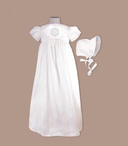 Irish county christening gown from Leitrim