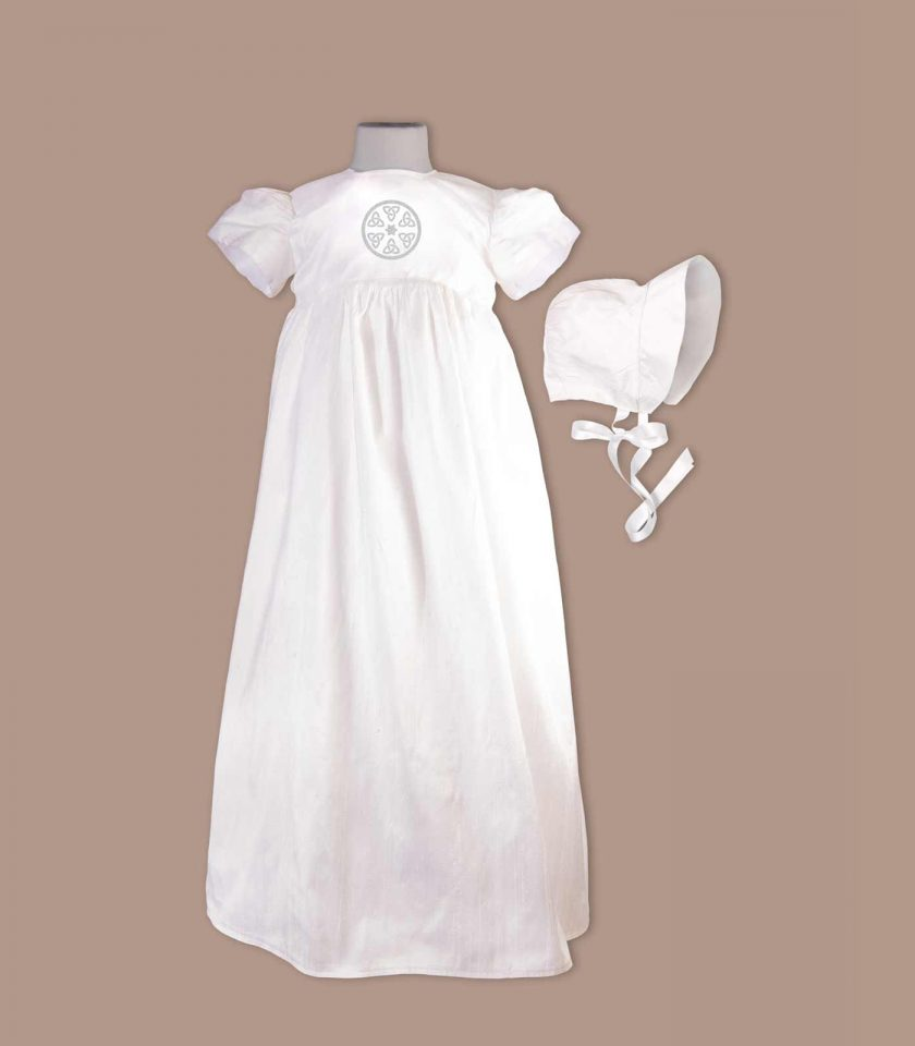 Leitrim Christening Gown with bonnet