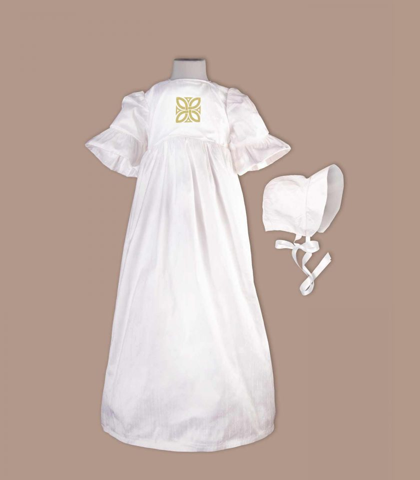 Limerick Christening Gown with bonnet