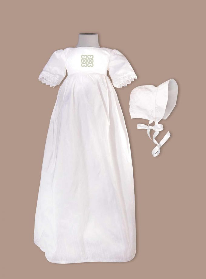 Longford Christening Gown with bonnet