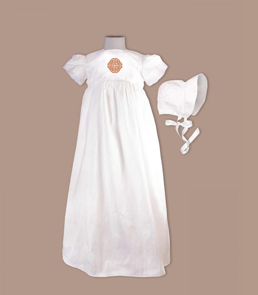 Louth Christening Gown with bonnet