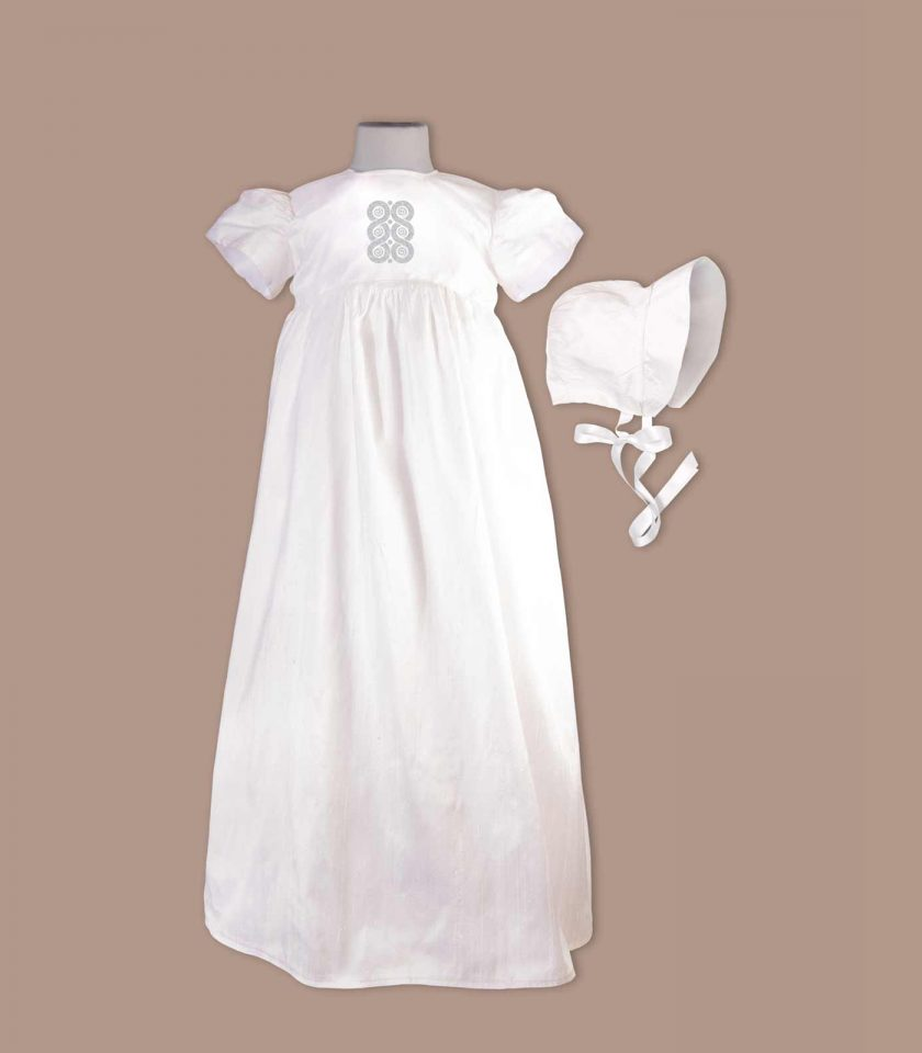 Roscommon Christening Gown with bonnet